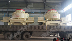 VSI 7611 sand making machine for 280tph artificial sand making plant