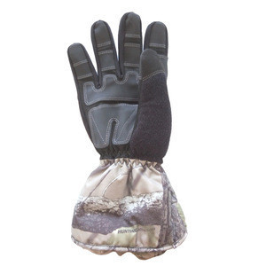 Wholesale Camo Pattern Waterproof Clothes Hand Hunting Gloves
