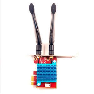 Wireless  intel x550 flr 331 1gb 4port gigabit pci tarjeta inalambrica 6 de 800ax 2 antenna wifi convertor the network card