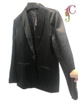 Man-made Leather Jacket