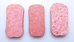 Canned Pork & Chicken Luncheon Meat