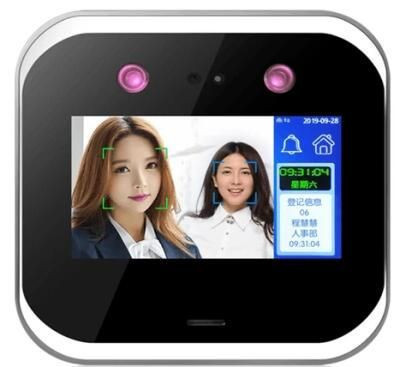Biometric Dynamic face recognition time attendance and access control