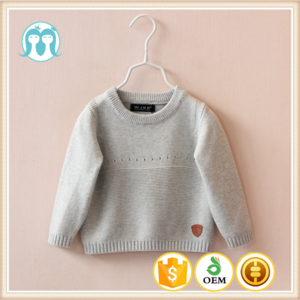 2017 customize winter baby clothing wholesale woolen sweater designs for children