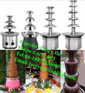 3layers chocolate fountain for party /chocolate fondue fountainfor christmas festival/large chocolate fountain