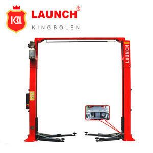 4 ton lifting 2 post floor clear car lift / car lifter jack / car lifter