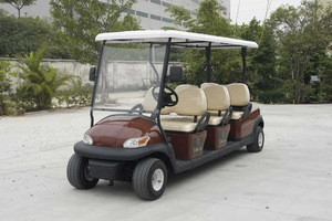 6 seats electric golf cart