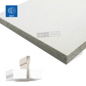 600X600X20mm fireproof glassfiber  acoustic ceiling tiles