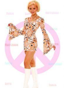 60s Retro Daisy Print Dress