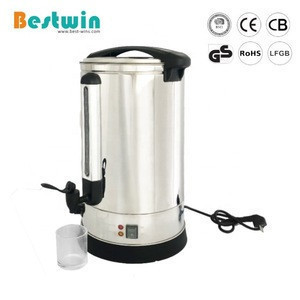 93Cup 22Liter Stainless Steel Catering Tea Urn Electric Automatic Coffee Boiler