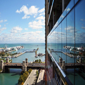 Aluminum Frame Tempered Glass Curtain Wall System