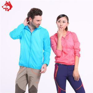 Anti-UV skin coat outdoor camping hiking clothes Couples mounted jackets