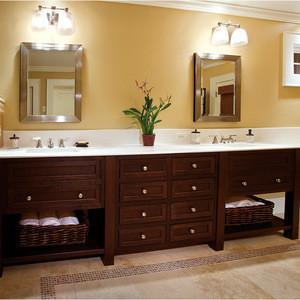 Furniture Solid Wood Bathroom Vanities