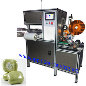 China automatic round toilet bar soap paper wrapping machine