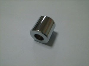 CNC turning with knurling high technology machining services for round high polish