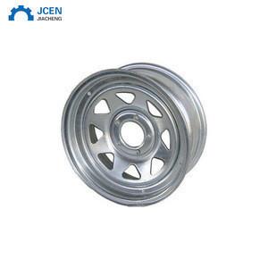 Custom steel truck wheel rim