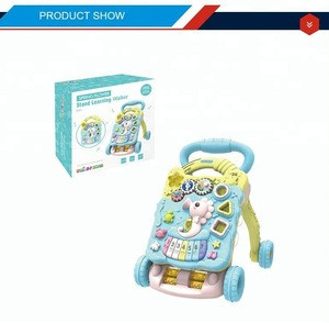Educational trolley walker baby toy with musical