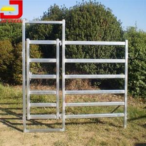 Eye pleasing Cost of Livestock cattle flat panel farm gates