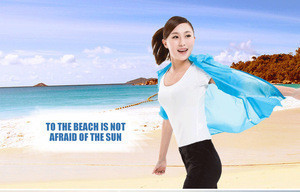 Fan cooling ultraviolet-proof windproof waterproof outdoor hiking air conditioner jacket with pct