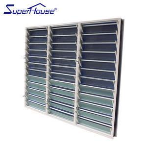 Free air flow aluminium shutter glass louvre windows