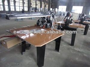 Head tilting 360 degree Woodworking cross cutting saw machine