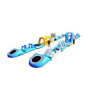 Heavy duty inflatable sea water park amusement equipment