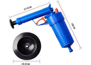 High Pressure Toilet Floor Drain Canalisation Air Power Plunger Blaster Pump Cleaner air blaster power drain blaster