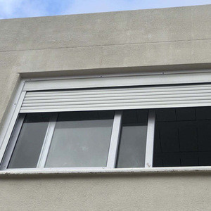 Hot sale powder coated aluminum roller shutter window
