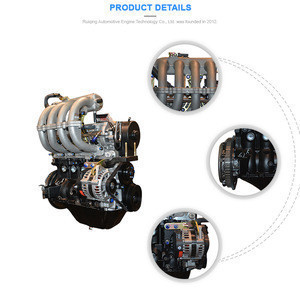 Hot sales Classic CHINA Car Engine Assembly for chery QQ 1.1L