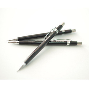 JD-121 Stationery soft touch Clutch pencil Custom logo 0.5mm mechanical pencil lead