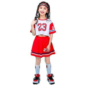 Kids clothes for hip hop costumes wear street dance clothing sets tennis football sports wear for teenager girls and boys