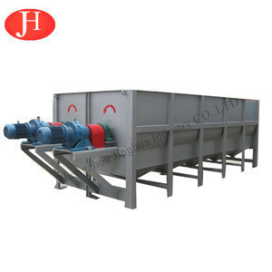 Large capacity fresh cassava tuber paddle cleaning machine / cassava cleaning machine hot sale