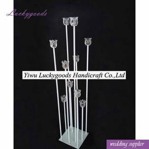 LG20180307-8 aisle pillar for wedding decoration indoor light pillar for wedding party decoration
