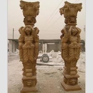 Marble Stone Statue Pillar
