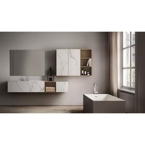 Modern Bathroom Vanity Solid Wood Bathroom Cabinet White Bathroom Cabinets