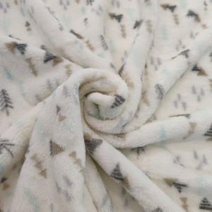Organic Cartoon Cute Soft Plush Security Comforter Baby Sleeping Bunny comforter toy Blanket Set
