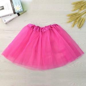 Parent-child Girls Ballet Tutu Skirt Solid Pink Tutu Skirt 2019 Fashion Ladies Tutu Skirt