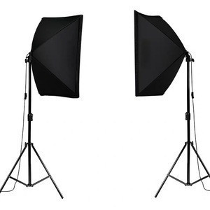 Photography 50x70CM Lighting Softbox Kit Soft Box Camera Accessories For Photo Studio Video