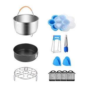 Pressure Cooker Accessories Set, Compatible with Instant Pressure Cooker Pot 5,6,8 QT, Electric Pressure Cookers, 12pcs