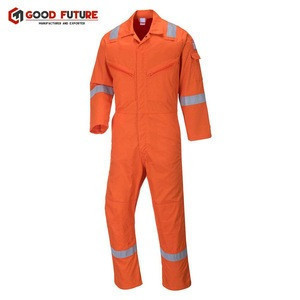 Protective Safety Workwear High Visibility Overall With Reflective Tape, Safety Guard Uniform
