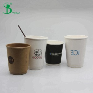 Raw Materials Double Wall Bamboo Coffee Cups For Paper Cups