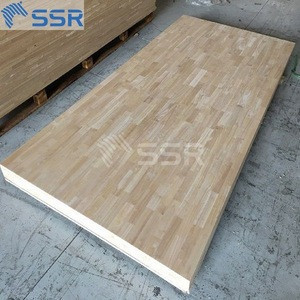 Rubber Wood Solid Wood Boards/Finger Jointed Panels/Edge Glued Panels for Floor, Wall,Fence