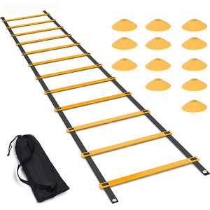Safety folding training sports football speed agility ladder