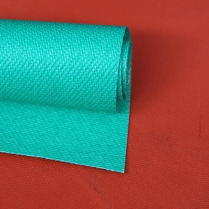 Silicone Rubber Coated fireproofing fiberglass cloth