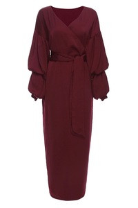 Stylish wholesale bishop sleeve muslim skirt and blouse skirt islamic clothing