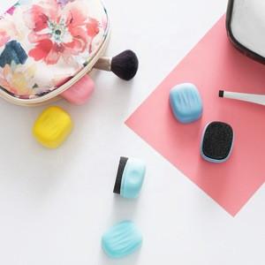 Travel Essentials Portable Mini Shoes Sponge Cute Colorful Sponge Shoes Wipes