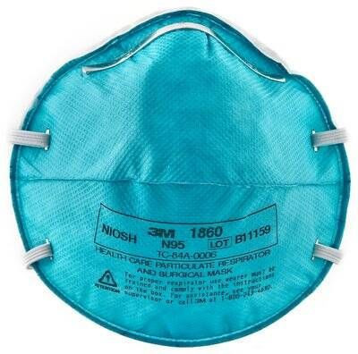 3M Health Care Particulate Respirator and Mask 1860