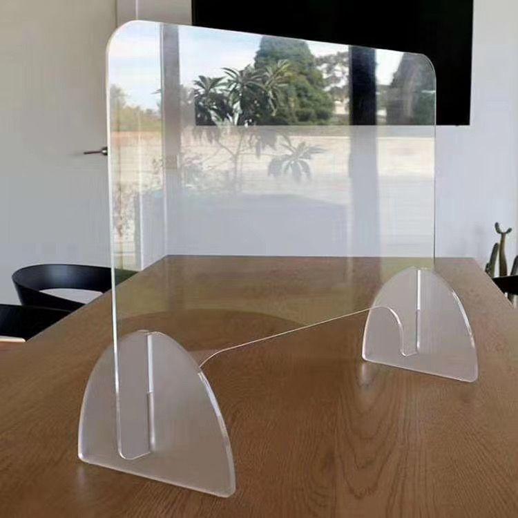 Acrylic sneeze guard shield