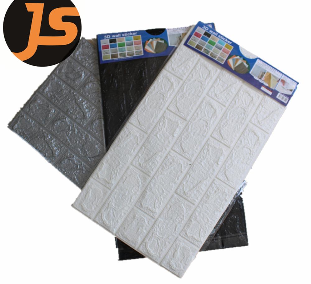 3D Brick Design PE Foam wallpaper sticker for wall home deco