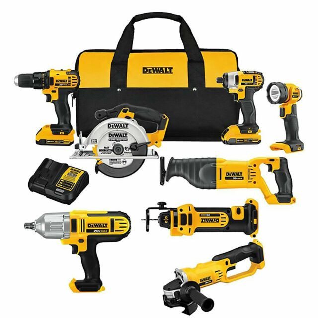 PROMOTIONS-_DeWalts 20-v Max Lithium Ion Cordless Combos Kits(15-Tool