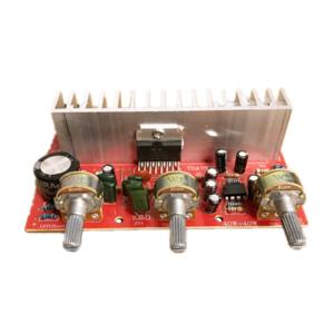 12V Amplifier DIY Module tda7377 2.0 Dual-channel Mixer 40W +40W Amplifier Board